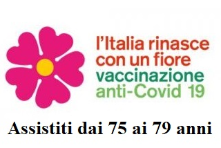 Attivazione piattaforma Adesione Vaccinazioni Covid riservatao alle persone tra i 75 e 79 anni
