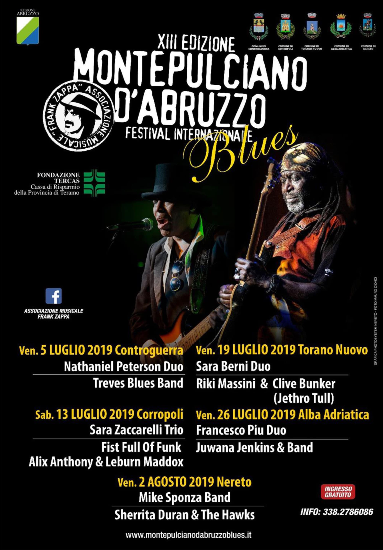 XIII Edizione - Montepulciano d'Abruzzo Blues - Festival Internazionale