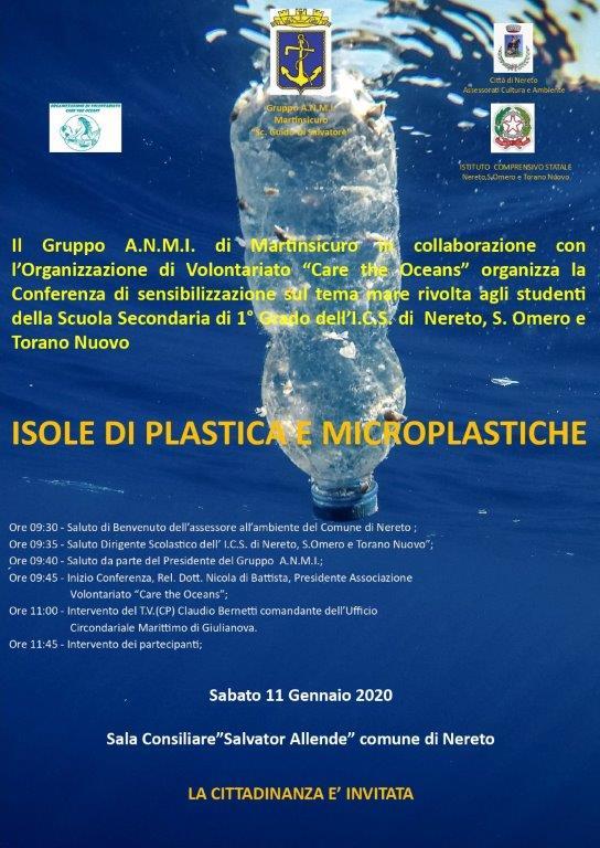 Isole di plastica e microplastiche