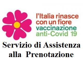 servizio di assistenza alla popolazione per la prenotazione del vaccino anti-Covid 19-sospensione